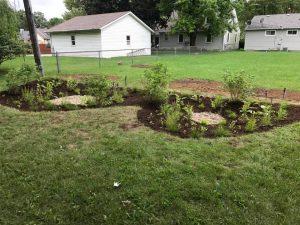 Rain Garden - Greenscape Geeks Landscaping Indianapolis