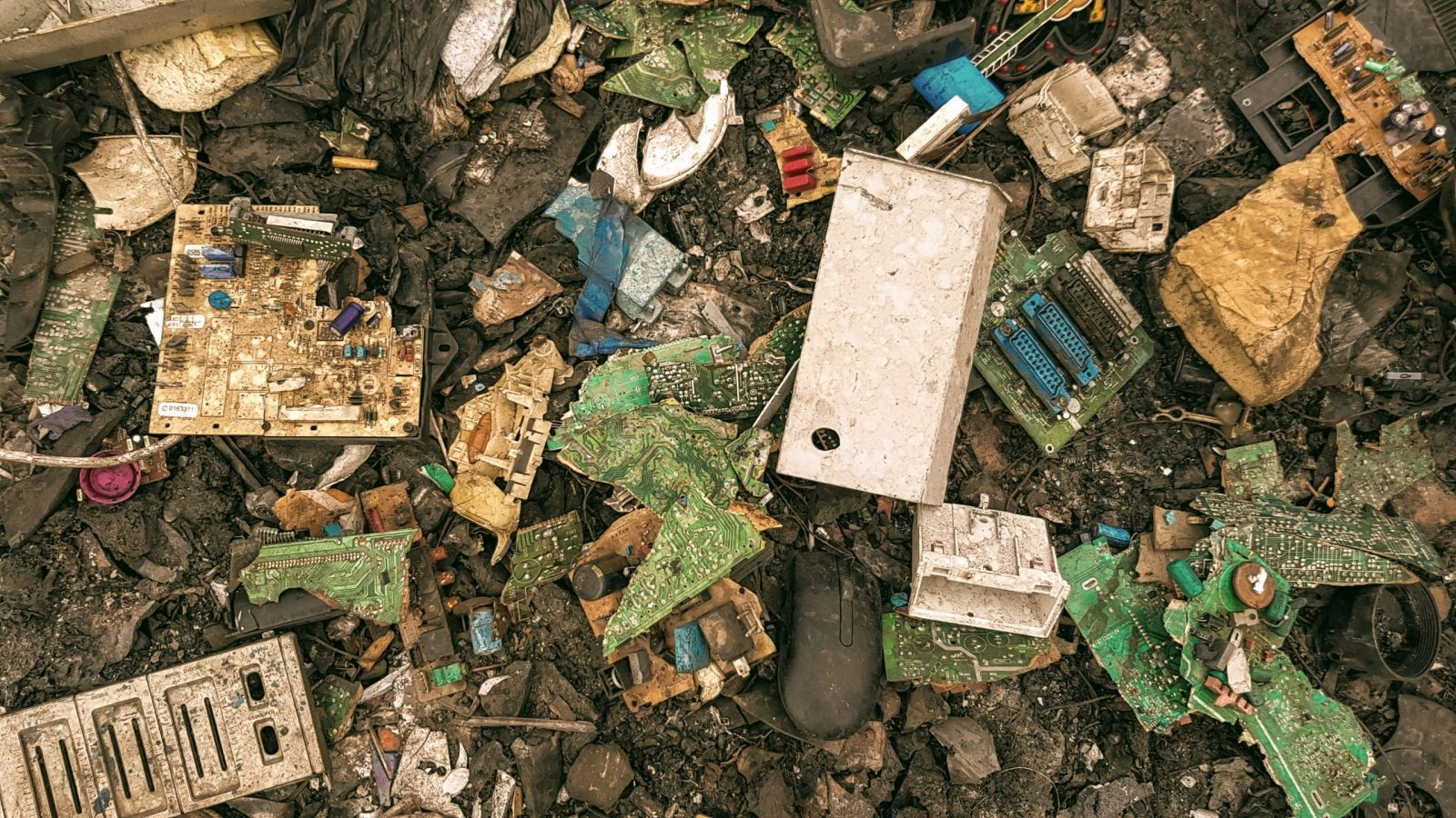 Electronic waste at Agbogbloshie, Ghana