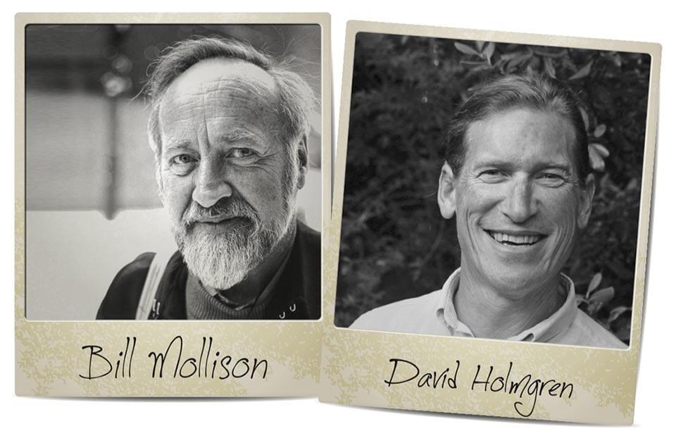 David Holmgren and Bill Mollison