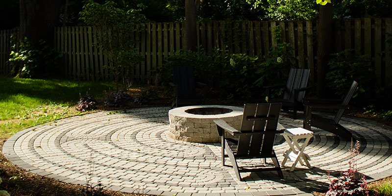 fire pit patio Indiana