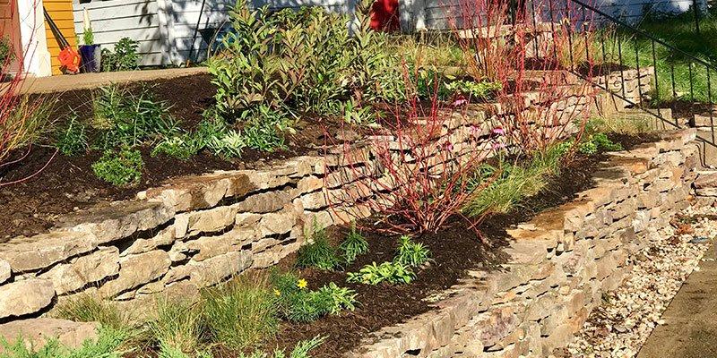 custom retaining wall Indiana