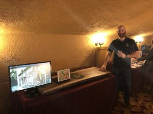 Greenscape Geeks Booth at Wild and Scenic Film Festival