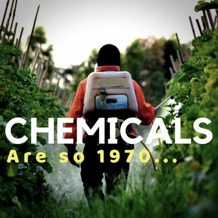 Chemicals are so 1970