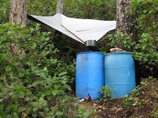 rain barrel water